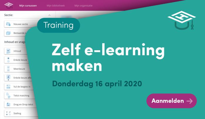 Zelf e-learning ontwikkelen