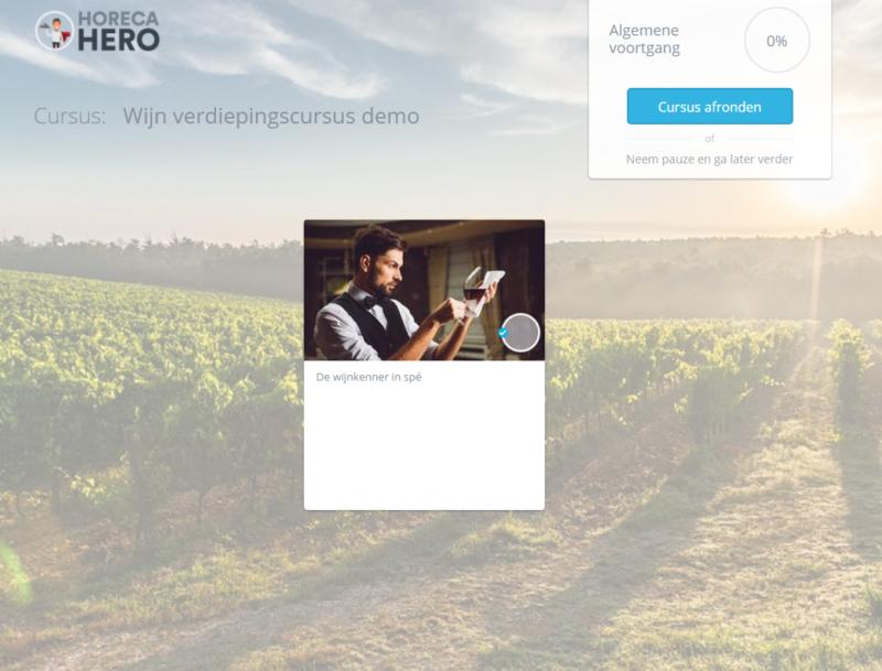 online wijntraining